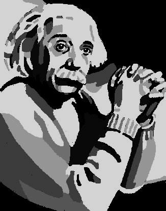 Albert Einstein by volkov